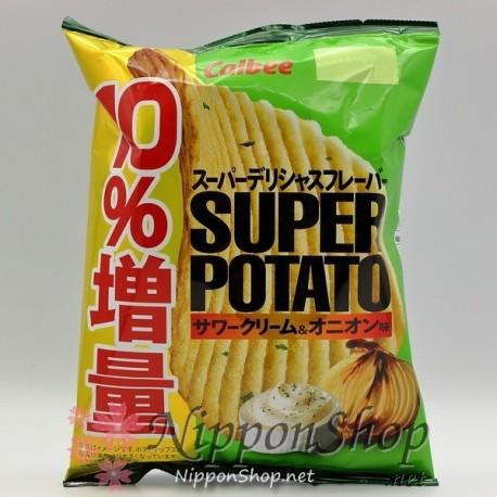 Calbee Super Potato - Sour Cream & Onion