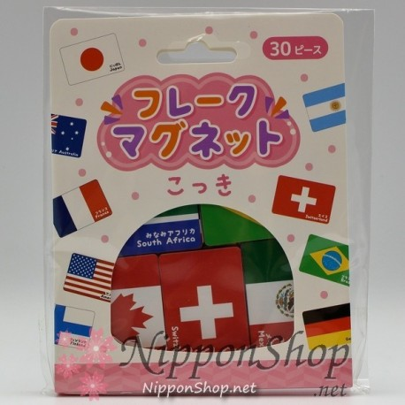 Flake Magnet - Flags