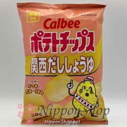 Calbee Kartoffelchips - Kansai Dashi Shoyu