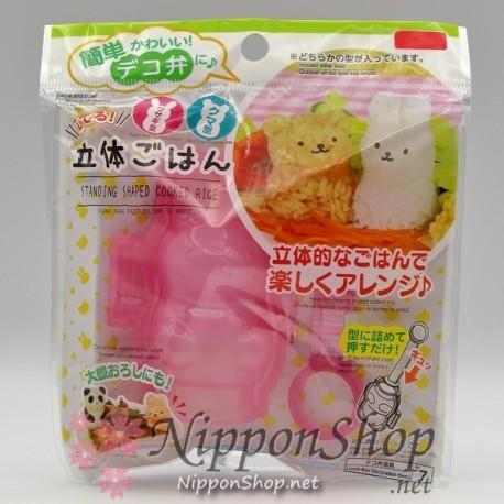 Deco rice mould - 3D Usagi