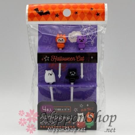 Bento Picks - Halloween Cat