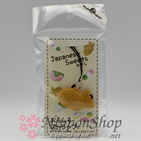 Japanese Sweets Strap - Taiyaki