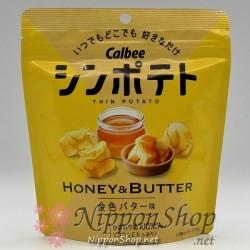 Calbee Thin Potato - Honey & Butter