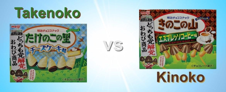 Takenoko und Kinoko